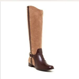 Louise et Cie two tone riding boot size 5.5